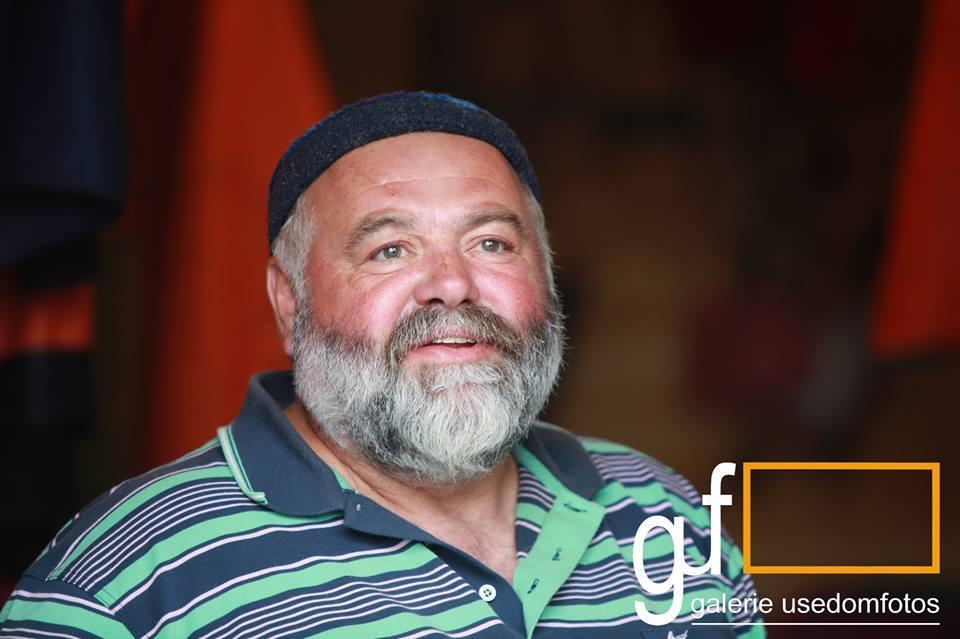 Friedhelm Schmidt, ein Fischer aus Zempin