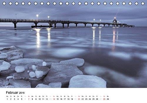 Kalender Usedomfotos 2016 - Seebrücke Zinnowitz