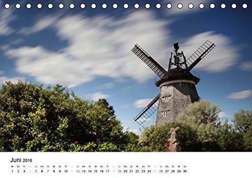 Kalender Usedomfotos 2016 - Mühle in Benz