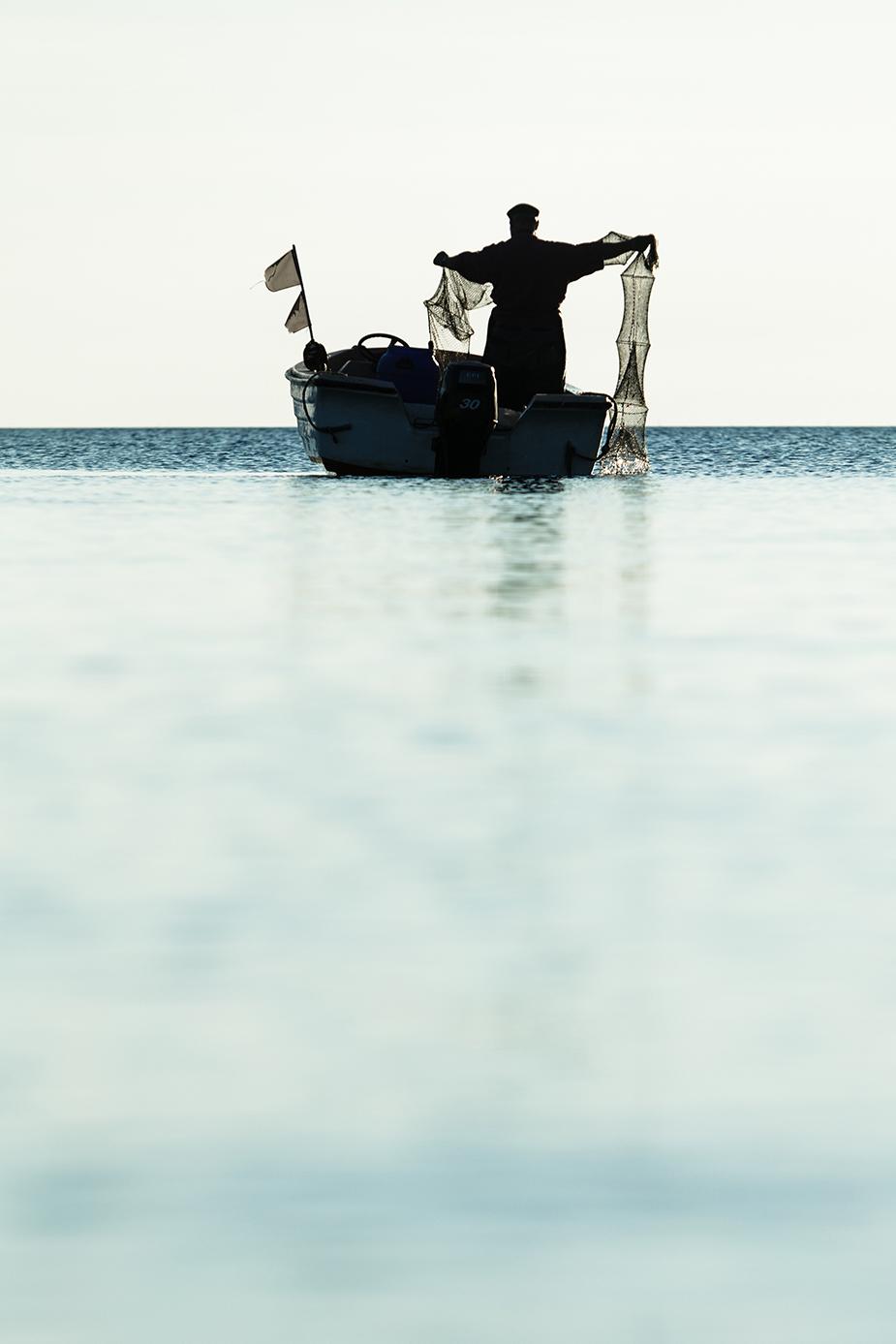 Rügen! Fischer und Landschaft © Iwona Knorr