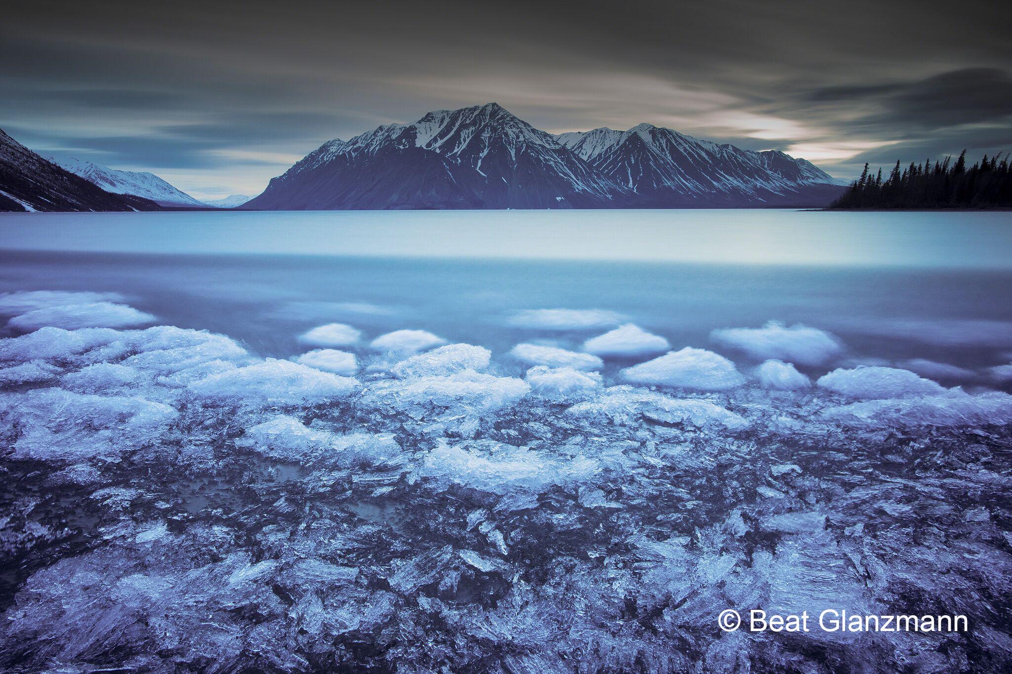 ... unglaubliche Eislandschaften